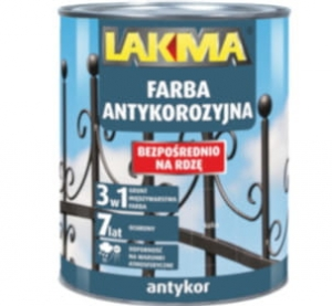 Antykor anti-corrosion paint black 750 ml