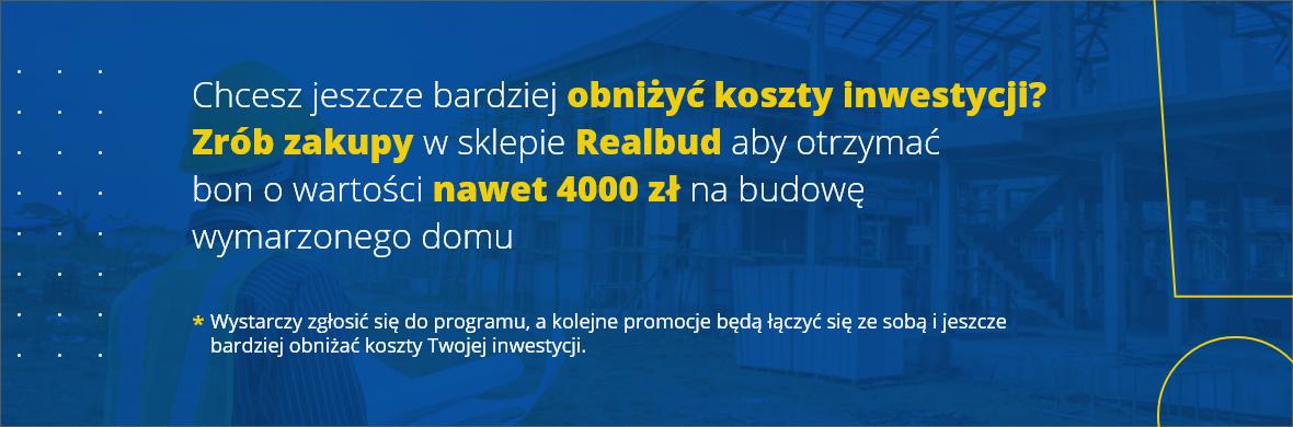 REALbon - 4000 zł na budowę domu!